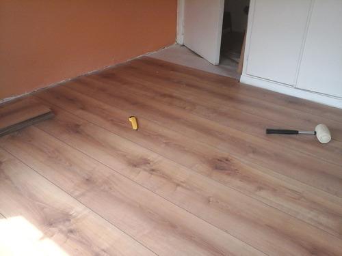 piso flotante, vinílico/pvc. instalación. colocación.