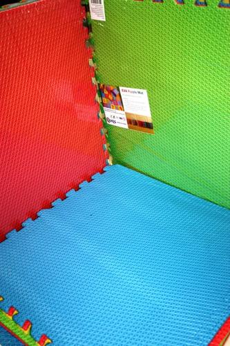 piso foamy tapete de fomi 60 x 60 paquete con 6 piezas