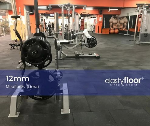 piso gimnasio de caucho. uso profesional. máxima durabilidad