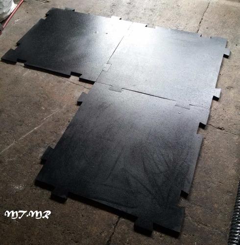 piso gimnasio lamina metro x metro en 1 cm espesor