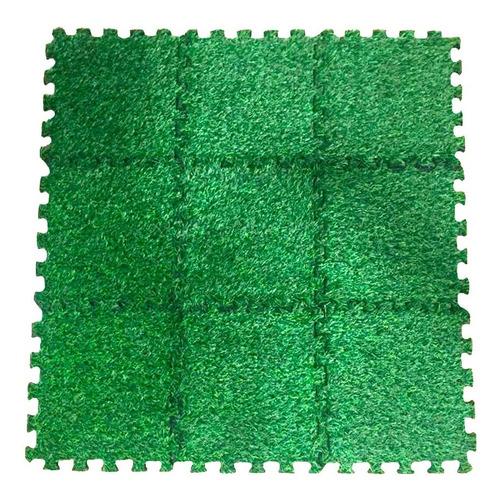 piso goma eva bebes alfombra antigolpes encastrable futbol