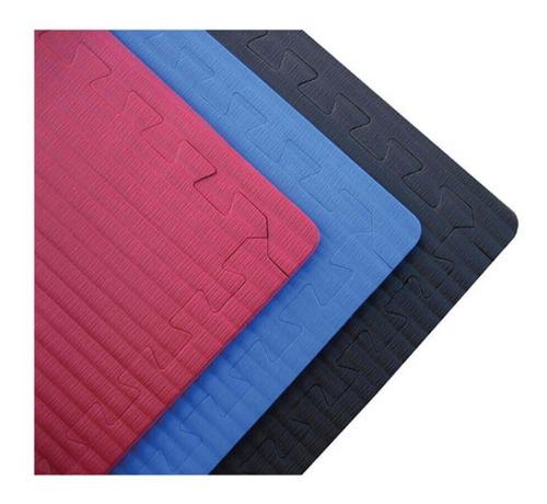 piso goma eva tatami negro - 1 metro de lado - 1 cm de espes