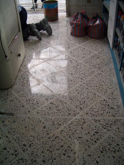 Piso granito pulido y mantenimiento en mercado for Donde venden granito