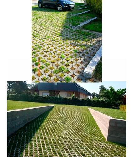 piso grilla baldosa hormigon adoquin redondo cuadrado patio