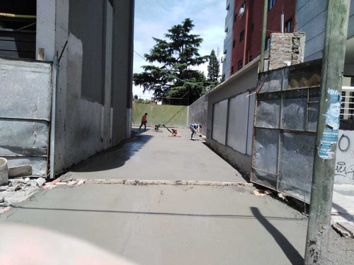 piso industrial hormigón alisado