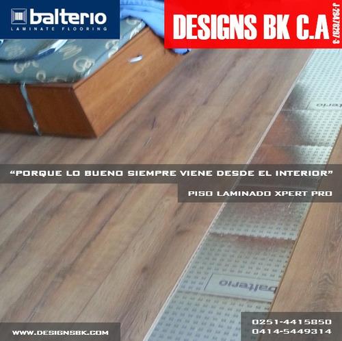piso laminado de madera flotante