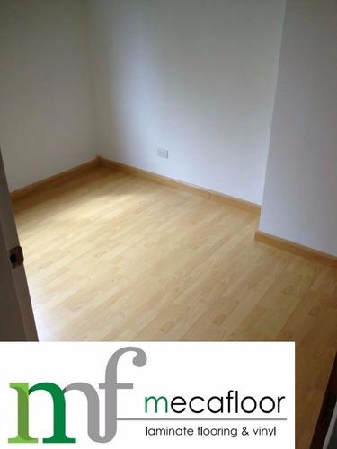 piso laminado de madera flotante y vinil al mayor y detal