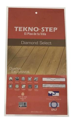 piso laminado diamond select 7mm tekno step
