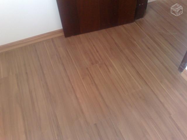Piso laminado eucafloor prime completo e instalado r for Piso laminado instalado