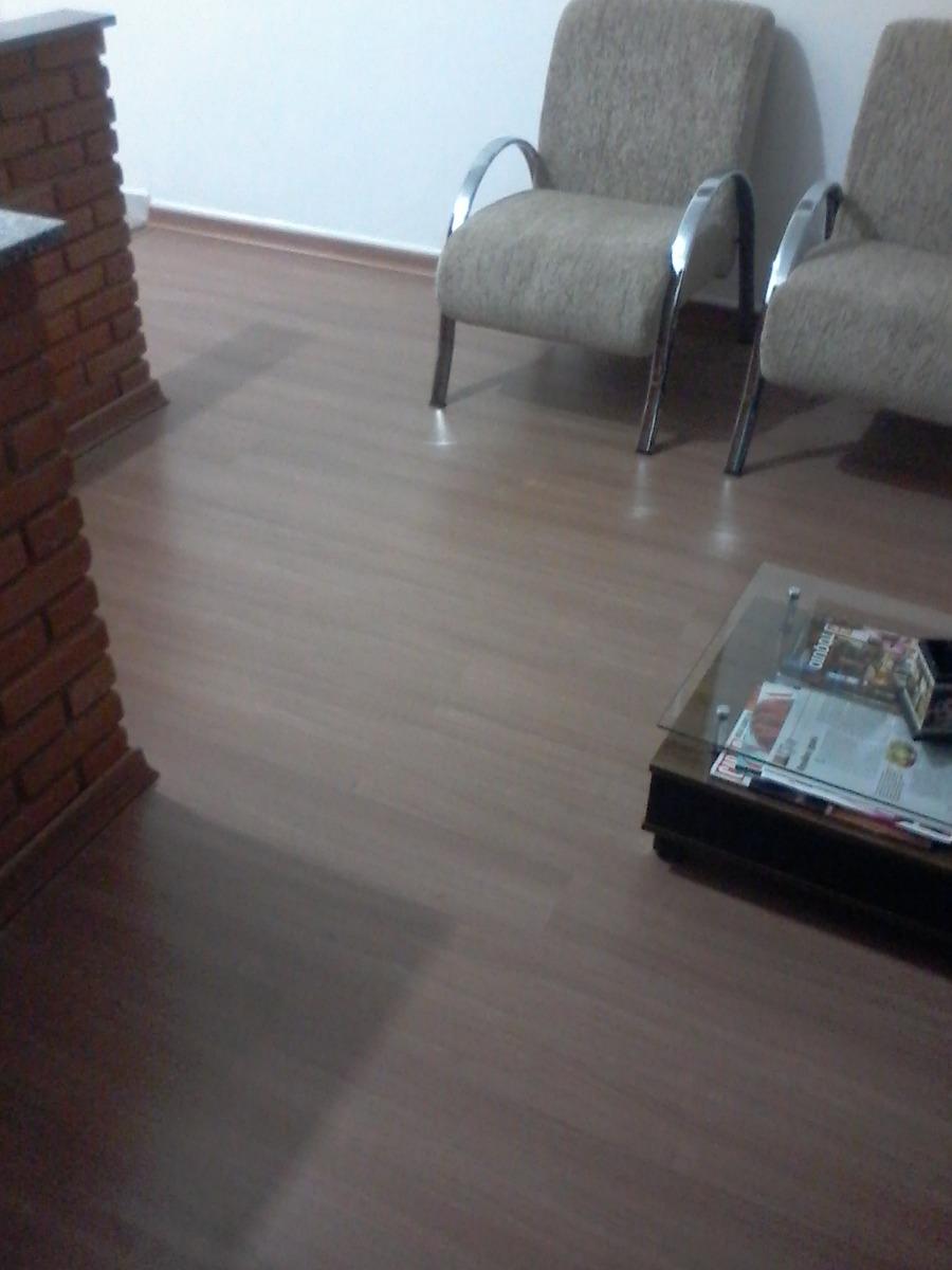 Piso laminado eucafloor prime instalado r 37 90 em for Piso laminado instalado