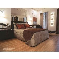 piso laminado promoção eucafloor prime instalado novas cores
