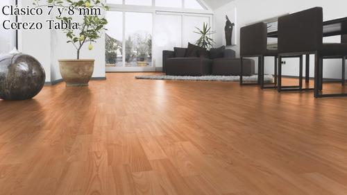 piso laminado tekno step professional series 7mm barato