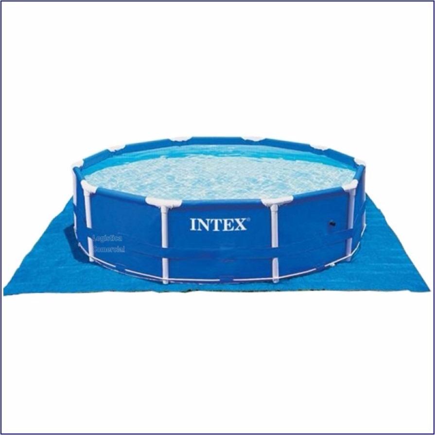 Piso lona tapiz 472 cm para piscinas inflables intex for Albercas inflables intex precios