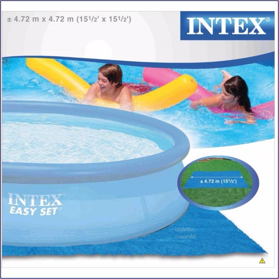 Piso lona tapiz 472 cm para piscinas inflables intex for Lona piscina bestway