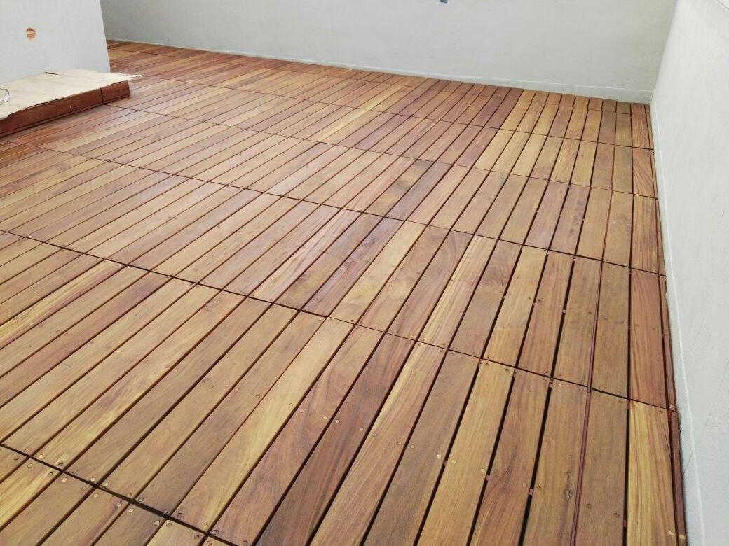 Piso madera deck cumaru exterior intemperie rojizo selecto - Piso interior o exterior ...