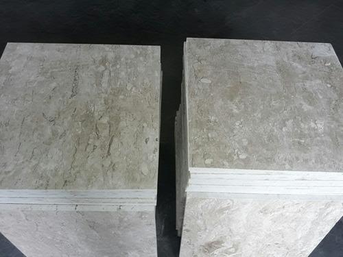 piso - mármore travertino nacional 55 x 55 r$ 160,00 m2