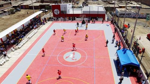 piso multiuso deportivo de poliuretano -voley,basquet,futsal