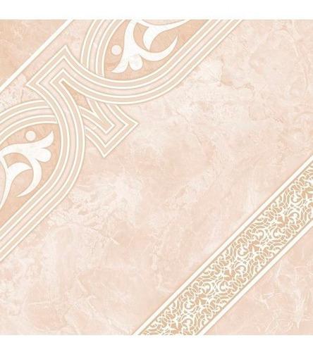 piso ornamental lima beige 45.5 x 45.5 caja 1.86 corona 4559