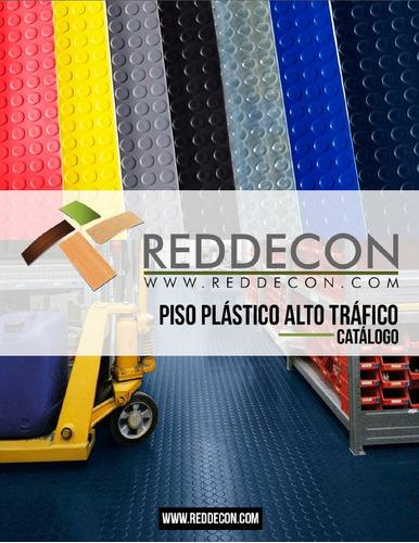 piso plástico alto tráfico pvc por m2.