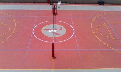 piso polideportivo poliuretano