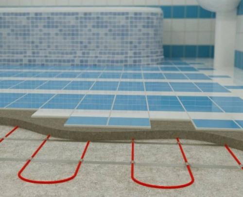 piso radiante,piso radiante eléctrico,loza radiante eléctric