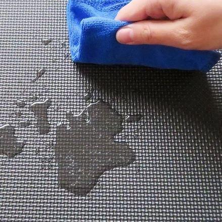 piso tapete gym gimnasio 62x62x12mm de foami ensamble 20 pza