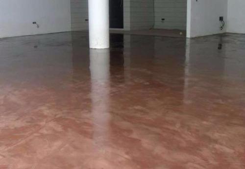 piso tipo microcemento