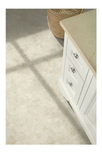 piso vinilico autoadherible travertine crema caja 2.79m2
