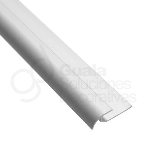 piso vinilico cuarta caña aluminio anodizado 2m pf 1301