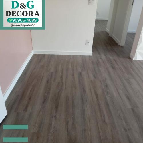 piso vinilico e laminado