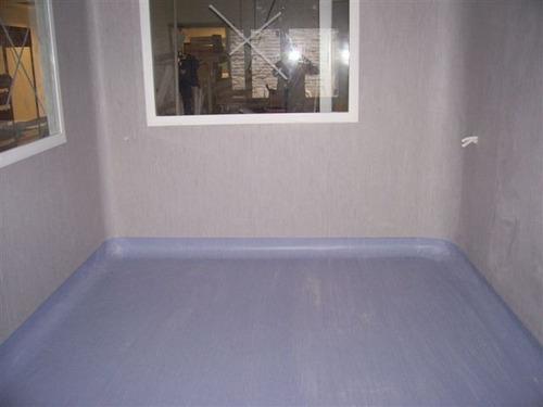 piso vinilico en rollo 1,25 mm para pared hospitales x m2 jb
