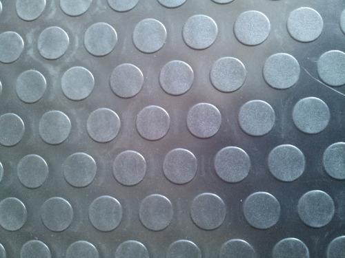 piso vinilico moneda rollo negro 2,5mm alto transito x m2