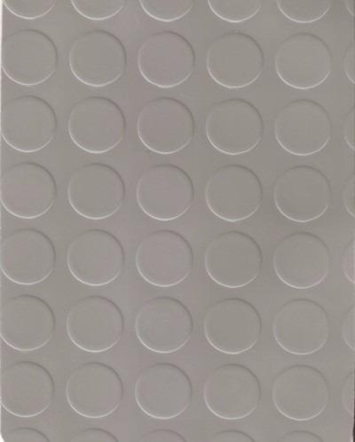 piso vinilico moneda tapon gris 1,2 mm espesor no goma x m2