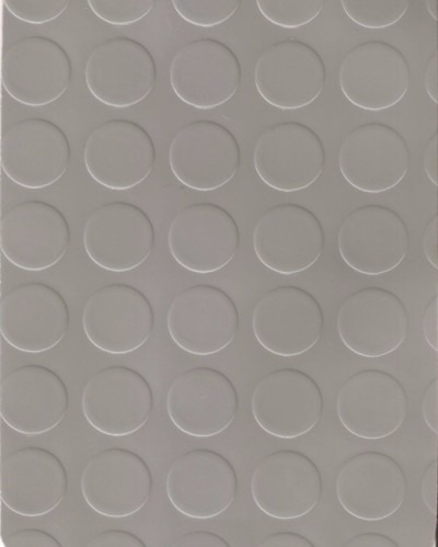 piso vinilico rollo moneda tapon gris 1,2 mm  no goma x m2