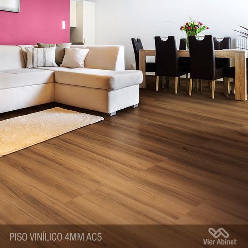 piso vinílico spc ac5 4mm alto tránsito