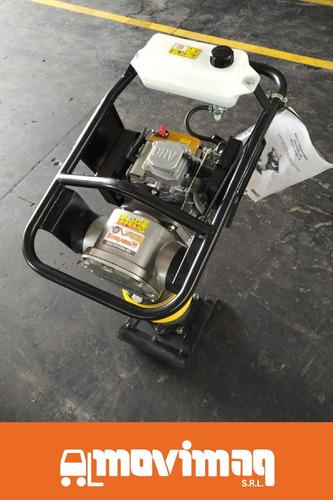 pisón vibratorio pv70 vibroplus, motor a nafta de 3,5 hp