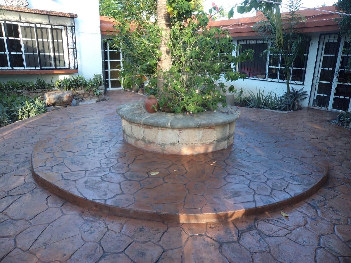 Pisos de concreto estampado stancolor concretos for Cemento estampado precio