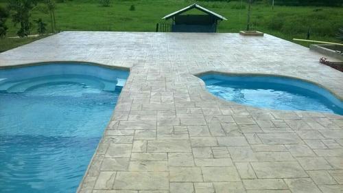 pisos de concreto estampados
