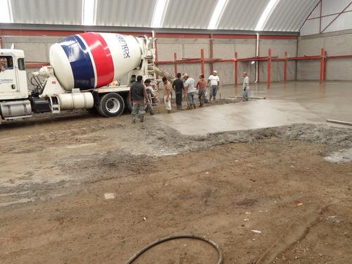 pisos de concreto, extendido de concreto, concreto pulido