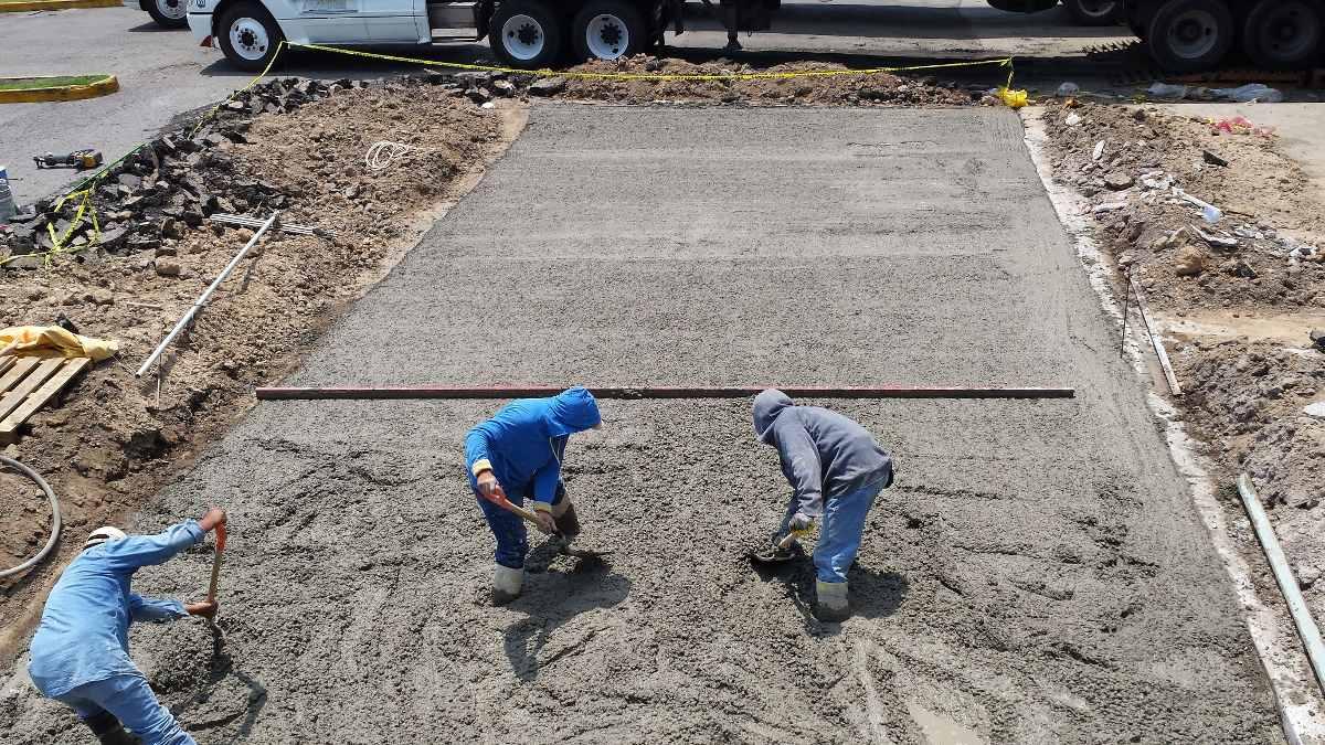 Pisos de concreto extendido de concreto concreto pulido for Piso concreto pulido