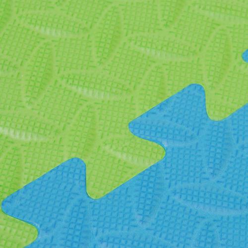 pisos de goma eva para estipulación 10 piezas 60 x 60 x 15mm