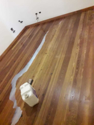 pisos de madera +colocación + zócalos