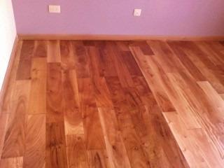 pisos de madera entablonado de viraro colocado