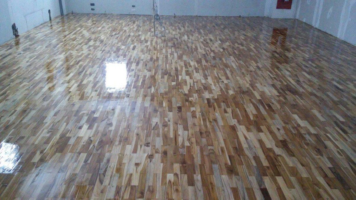 Pisos de madera techos laminados parquet machiembrado bs 3 50 en mercado libre - Laminas de parquet ...