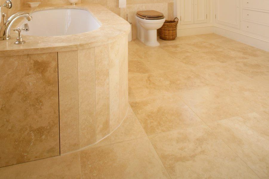 Pisos de marmol travertino veracruz 40x40 290 00 m2 mate for Marmol travertino precio m2