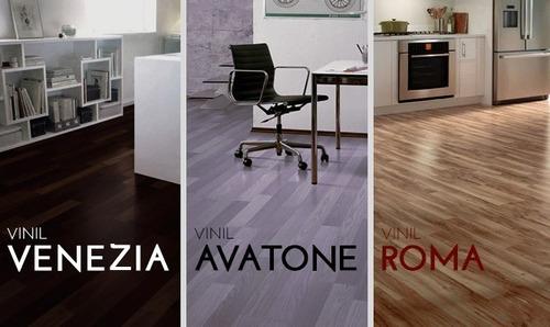 pisos de vinil 2,4mm y 3,2mm italianos todo incluido
