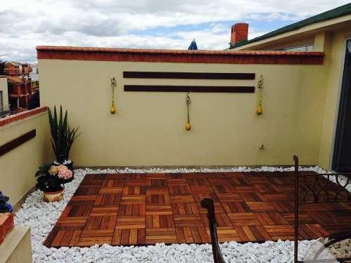 pisos deck en madera de teca