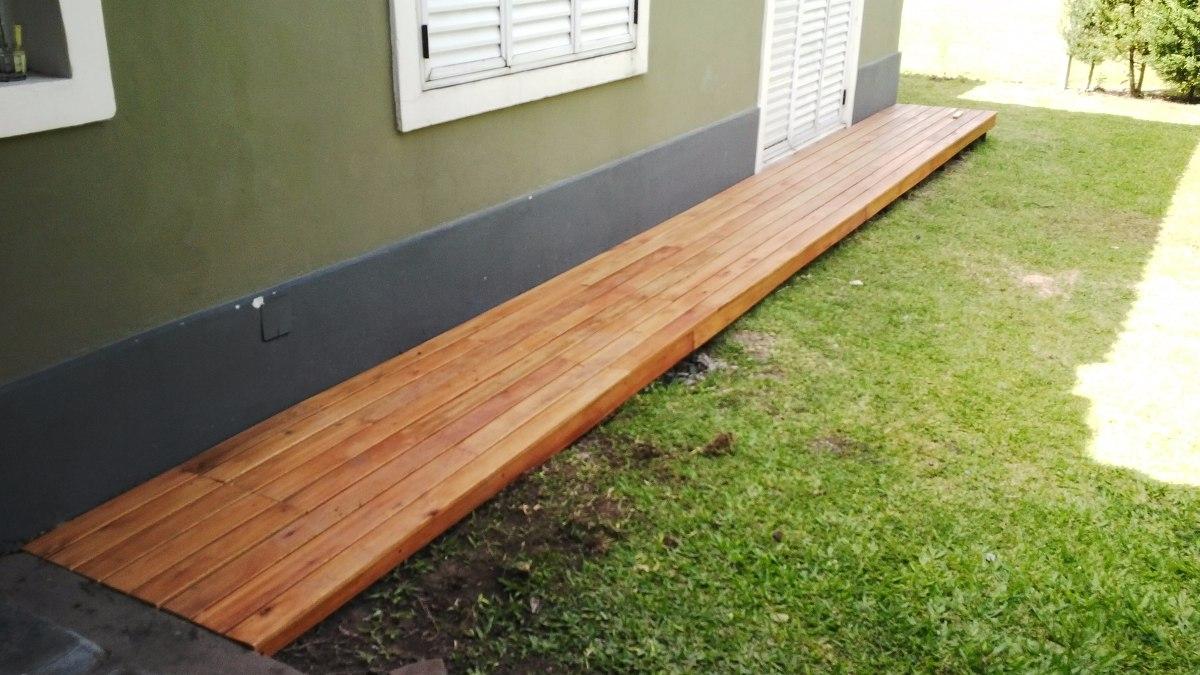 Pisos Decks De Madera Dura Para Exterior Con Colocacion - $ 630,00 ...