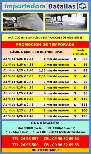 pisos duela teja española policarbon alucobon acrilico  z5