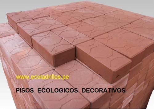 pisos  ecologicos  - ladrillos ecologicos